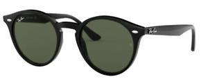 Ray-Ban Damen Herren Sonnenbrille RB2180 601/71 51mm schwarz
