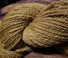 CRAZY Handspun Baby Camel Yarn 100% Golden luxury fingering/sport 80 yards 2 ply