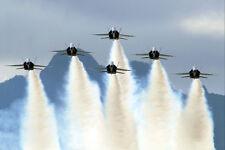 Blue Angels Performing Delta Formation 12x18 Silber Halogen Fotodruck