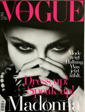 Vogue Magazine Germany May 2017 Irina Shayk Kate Moss Lara Stone Sara Grace