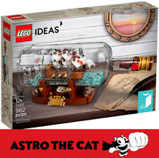 LEGO Ideas 21313 Ship in a Bottle - Brand new - Astro the Cat!