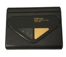 Vtg Vintage Craig Cassette Player- Model J812- Tested & Working