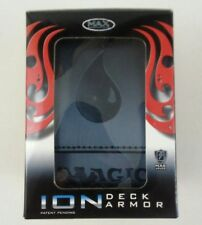 Magic the Gathering MAX Protection ION Deck Armor Black Mana Symbol Deck Box