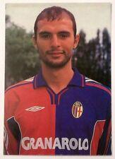 Cartolina Bologna Calcio 2000-01 Giulio Falcone