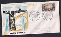 PREMIER JOUR - TRAVAUX PUBLICS  N°:1114- 20.6.1957 CV : 2.20 €