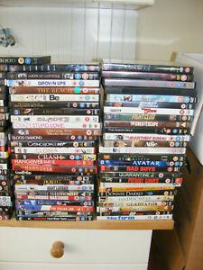 Wholesale Joblot DVDs x 100 Films Action Drama Comedy titles pictured mix lot 2