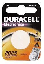 """DUR033979 blister de 1 pile bouton lithium """"Electronics"""" DL2025 (CR2025)"""