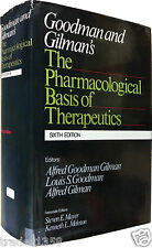 THE PHARMACOLOGICAL BASIS of THERAPEUTICS Goodman and Gilman's U.S.A.1980