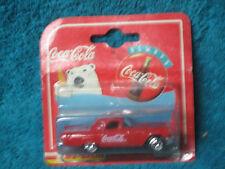 Majorette Coca-Cola Coke 1957 Ford Thunderbird 1:64 Scale METAL-NIP