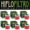 HiFlo Honda Motocross Oil Filters CRF 150R (07-16) CRF 250R CRF 450R (04-16) 6PK