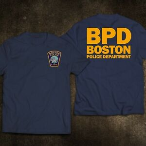 NEW Massachusett Boston Police Department Special Weapons And Tactics US T-Shirt