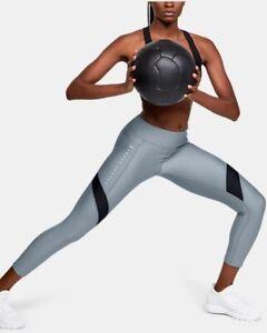 UNDER ARMOUR Women's HeatGear Armour Sport Ankle Crop Leggings - XL