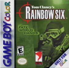 Rainbow Six GBC New Game Boy Color