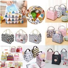 Childrens Adult Kids Picnic Lunch Bag Cool Bag School Cat Gift Insulated Bags