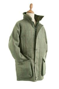 CHILDRENS WATERPROOF TWEED JACKETS WOOL OUTER NEW SIZES 24-36