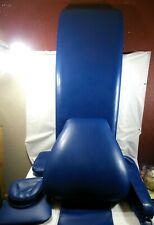 A FULL SET OF UPHOLSTERY FOR ADEC 1005 DENTAL CHAIR COLOR IS ROYAL BLUE
