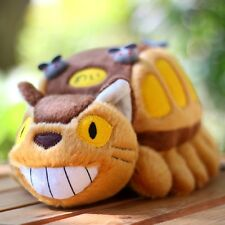 My Neighbor Totoro Cat Bus Plush Doll Christmas Toys Stuffed Pillow Ghibli 12""