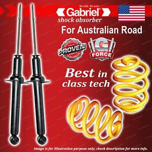 Rear Gabriel Ultra Shocks + Lowered King Coil Springs for Honda Accord CL9