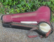 More details for vintage 'w.e.temlett, london' 6 string banjo - for restoration
