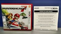 Mario Kart 7 - Nintendo 3DS Case, Cover Art, Manual ONLY *NO GAME*