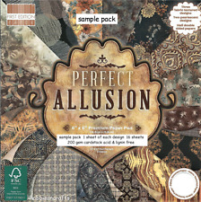 PERFECT ALLUSION Dovecraft 6 x 6 Sample Paper Pack craft & cardmaking 200gsm