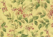 Mill Creek Fabric Bloomsbury Floral Drapery Upholstery Yellow  Rose