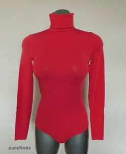 WOLFORD ORLANDO STRING BODY, SMALL, in red (lipstick), New in box