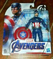 "Marvel Avengers: CAPTAIN AMERICA 6"" Action Figure (2018, Hasbro)"