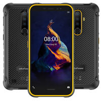 4G Rugged Unlocked Cell Phone Android 10 64GB Dual SIM Waterproof NFC Smartphone