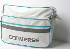 Converse Pocketed Reporter Sport Bag (White)