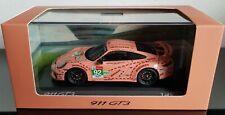 Porsche 911 991 GT3 Pink Pig 2018 1:43 Spark Dealer limited 300pcs Promo