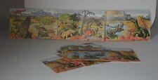 Cigarette/trade cards - MAGICARDS PREHISTORIC ANIMALS - 1971 Mint condition set