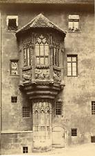 Allemagne, Nürnberg, Erker am Sebalderpfarrhof Vintage albumen print.  Tirage