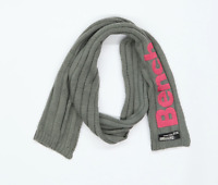 Bench Grey Graphic Womens Logo Scarf