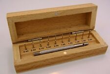 Watch Pin Remover Set With 10 Interchangable Pins In Wood Storage Box