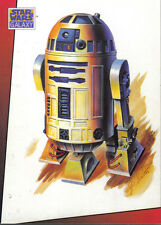 STAR WARS GALAXY SERIES 1 JUST TOYS BEND-EM PROMOTIONAL CARD C