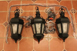 Pottery Barn - Mariposa Lantern Triple (Round piece is the top part)