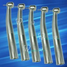5x Dental A Class LED Optic Push Handpieces Work With KAVO Quick Swivel Coupling