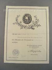 108336, Besitzzeugnis, Urkunde, VBerwundetenabzeichen in Schwarz, Flak Ers Abt 2
