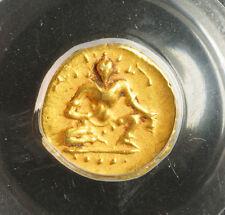 1509, India, Vijayanagar Empire, Krishnadevaraya. Gold ½ Pagoda Coin. PCGS AU58!