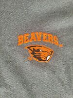 Oregon State Beavers Mens Knights Apparel Long Sleeve 1/4 Zip Pullover Size S