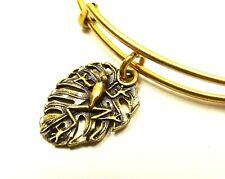 ALEX and ANI Rafaelian Gold Frog Wrap Bracelet with Charms