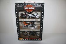 HARLEY-DAVIDSON 1:18 DIECAST MOTORCYCLE COLLECTION 5 MOTORCYCLES 32058 NEW