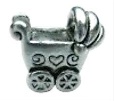 love baby pushchair alloy bead fit european charm chain