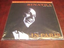 FRANK SINATRA MFSL SINATRA SEXTET LIVE IN PARIS AUDIOPHILE LIMITED EDITION 2 LPS