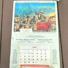 Vtg 1970 Firefighter Calendar NFPA St Charles MO 18x27 In Command Griffith LB