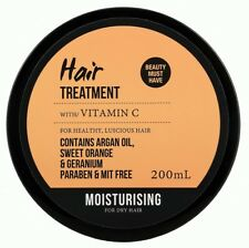 Dry Hair Treatment Vitamin C, Argan Oil, Sweet Orange, Geranium 200ml