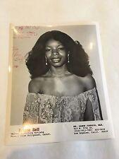 1980 8 x 10 Photo Signed Autographed Singer ARLENE BELL e