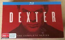 DEXTER The Complete Series 32-Disc Blu-Ray Box Set SEALED Season 1 2 3 4 5 6 7 8