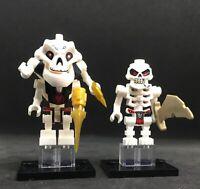 LEGO SKULKIN + SAMUKAI BOSS  LEADER NINJAGO TOP ARCADE